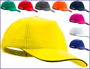 Gorras de Algodón Peinado - Gorras personalizadas promocionales ... 0687b4a6037