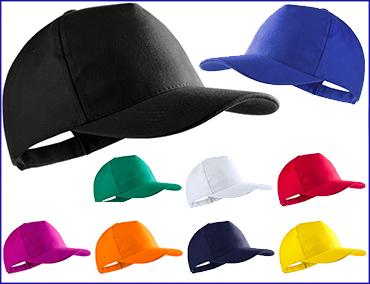 Gorras promocionales de Algodón Peinado - Gorras personalizadas ... c173ed29674