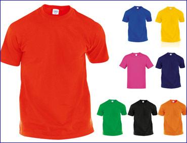 d3a43026b Camisetas Económicas de COLORES personalizadas - Camisetas ...
